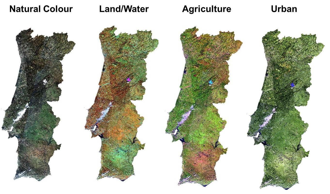 Portugal 2014 Landsat8