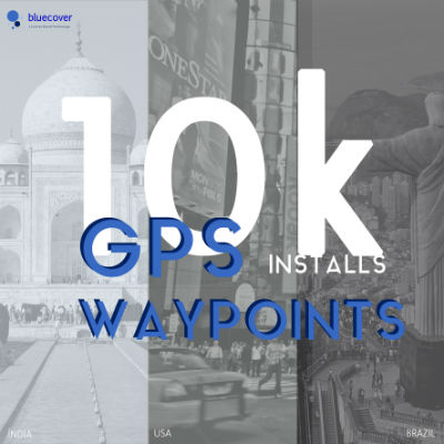 GPS Waypoints with 10 000 installs